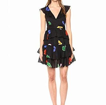 Ruffled dresses for Spring and Summer - Cynthia Rowley Ruffled Dress